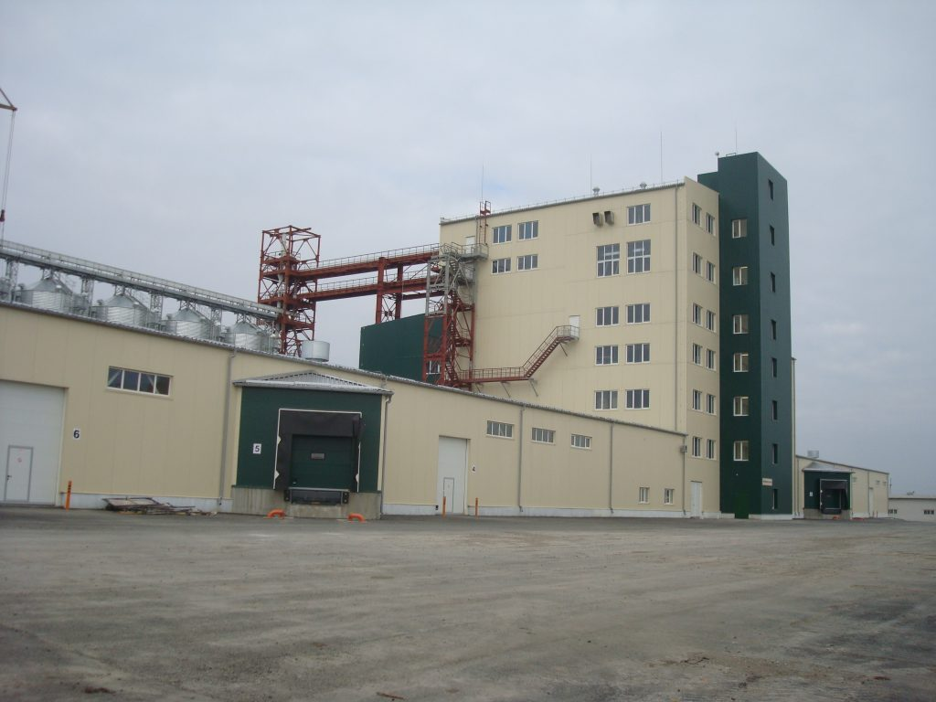 Завод з виробництва концентратів і комбікормів. ТОВ «ІНБЕЛ»