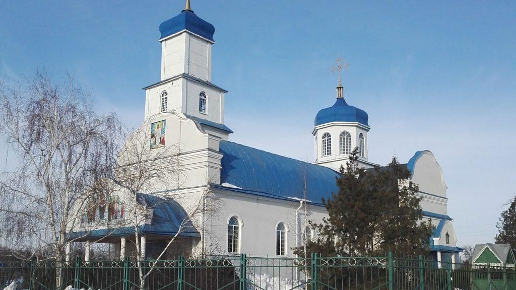 Церква. Дніпропетровська обл., Новомосковський р-н, село Спаське