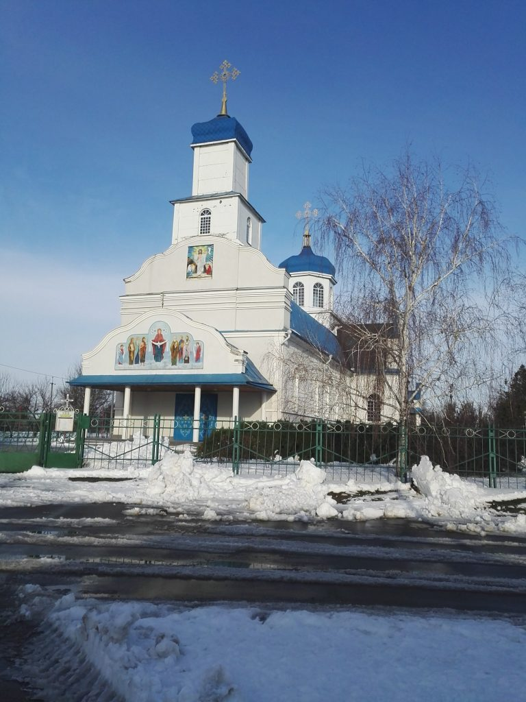 Церковь. Днепропетровская обл., Новомосковский р-н, село Спасское