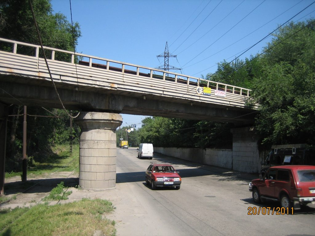Обстеження шляхопроводів. «Запоріжсталь», ПАТ, м.Запоріжжя